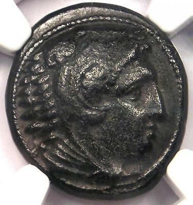 Alexander the Great III AE Unit Coin 336 BC - Certified NGC XF (EF) - Rare!