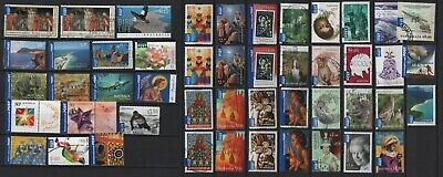 Australien Australia used collection AIP International Post sheet + self-adhesiv