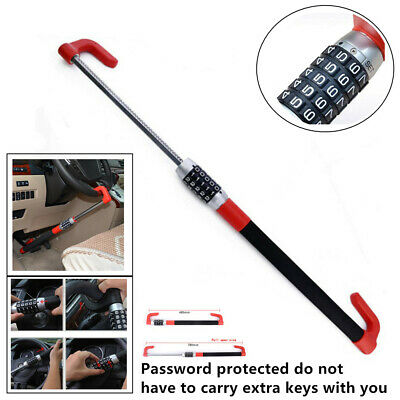 Practical Anti Theft Car Steering Wheel Lock Car Van Security Device Clutch Lock