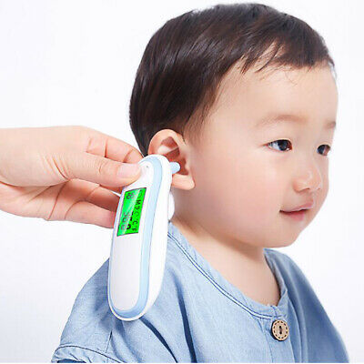 Toddler Infrared Thermometer - Accurate Forehead and Ear Thermometer for Fever