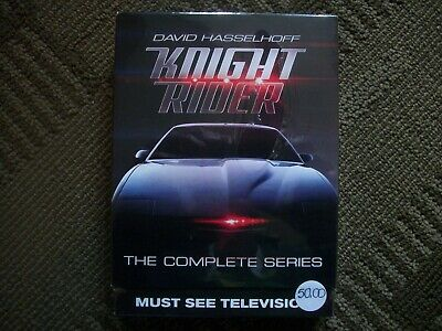 Knight Rider----Starring David Hasselhoff--The Complete Series--Sealed!!