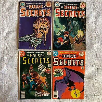 27 House Of Secrets / Mystery DC 1970s LOT 1990s LOT COMPLETE Horror Comics Book