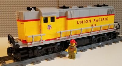 Custom Lego Train Union Pacific UP SD60 Decal Set