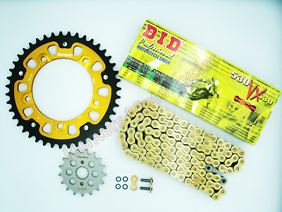 Suzuki GSF1250 Bandit SuperSprox Sprockets & DID Gold X-Ring Chain Kit Set