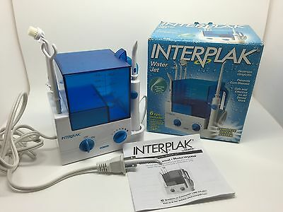 Interplak Complete Dental System Water Jet W/ 6 Tips, Model #WJ6RW (RF352)