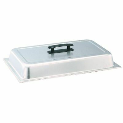Vollrath 77200 Full Size Solid S/S Dome Cover w/ Kool-Touch Handle