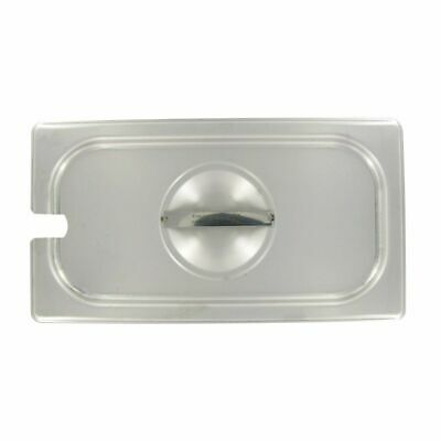 Vollrath 75239 Stainless Steel Slotted 1/3 Size Lid