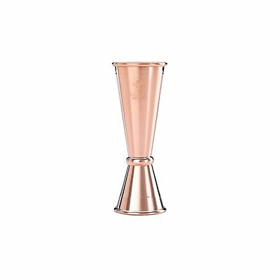 Mercer Culinary M37005CP Copper Plated 1 x 2 Oz. Japanese Style Jigger