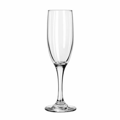 Libbey 3795 Embassy 6 Ounce Flute Glass - 12 / CS