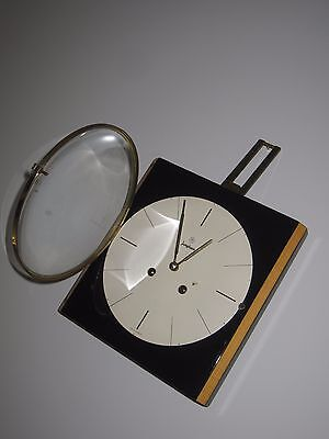 mid century modern Junghans striking mechanical wall clock - 1950s Germany rare