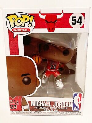 Funko POP! #54 NBA Basketball- Michael Jordan Chicago Bulls *Damaged Box