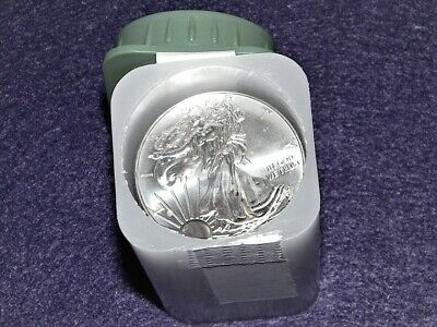 2014 American Eagle 20 coin roll BU in original tube