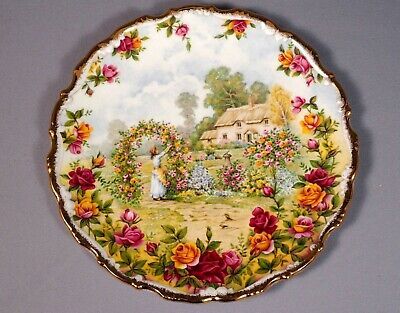 Royal Albert Old Country Roses Anniversary celebration Plate