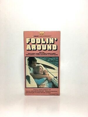 FOOLIN' AROUND (VHS, 1980) Annette O'Toole Gary Busey TESTED Embassy