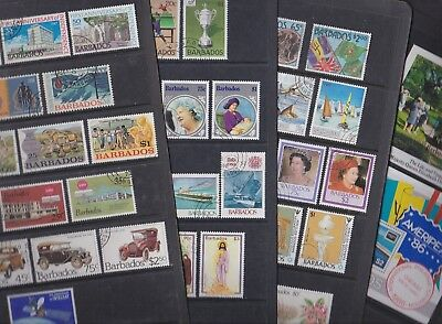 Barbados 1967-92 Used FU Full Sets Cars Sport Independence Transport Elizabeth