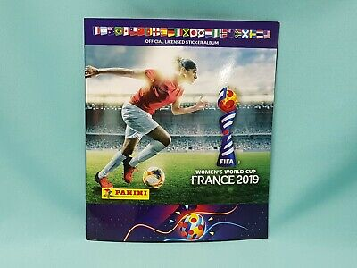 Panini Frauen WM 2019 France  Sammelalbum Album Sticker Womens World Cup