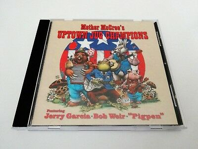 Mother McCree's Uptown Jug Champions CD Grateful Dead 1964 Jerry Garcia Bob Weir
