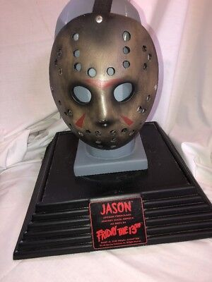 Jason Voorhees Bust Friday The 13th Part 4 3D With Hockey Mask