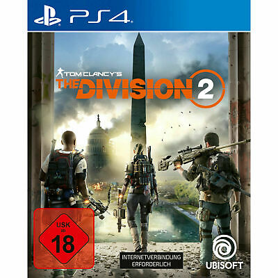 TOM CLANCYS THE DIVISION 2 - PlayStation 4 (Deutsch) NEU/OVP