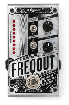 DigiTech FreqOut Natural Feedback Creator Effects Pedal, Brand NEW in Box