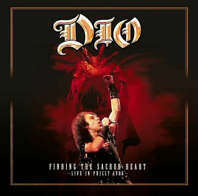 Dio FINDING THE SACRED HEART LIVE '86 Limited UK RSD 2018 New Clear Vinyl 2 LP