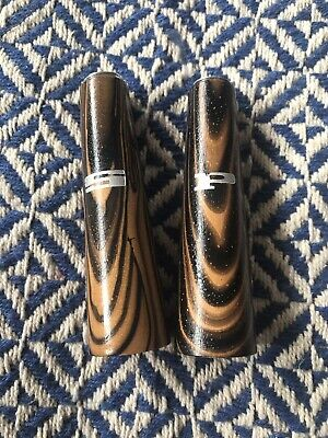 Vintage Retro 60's 70's Timber Salt and Pepper Shakers