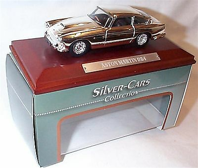 Aston Martin DB4 Silver Cars Collection New in box