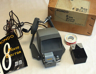 Vintage Rondo 8mm Movie Editor Made in Japan Great Condition