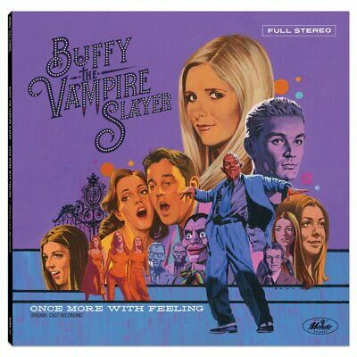 Buffy The Vampire Slayer Once More With Feeling Soundtrack 180g Blue Vinyl LP