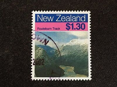 New Zealand 1988 Scenic Walkways $1.30 Routeburn Track - Fine Used