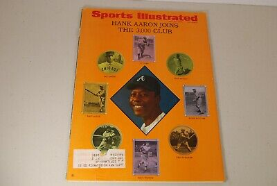 Sports Illustrated May 25 1970 Hank Aaron Joins The 3,000 Club