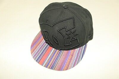 86109632 Dc Shoes - New Era 59Fifty Fitted Black & Striped Coverage Ii Hat Cap - 7