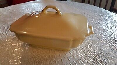 RARE ! -Vintage Homer Laughlin Riviera - Covered Bowl ; Tureen ; Center Piece