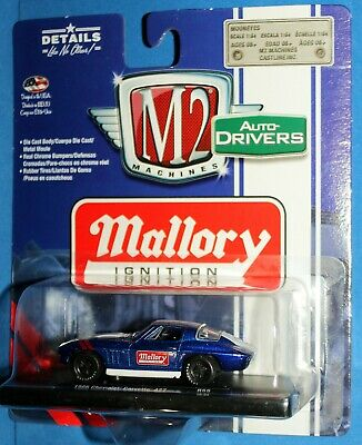 M2 MACHINES Auto Drivers - MALLORY IGNITION - 1966 Chevrolet Corvette 427 - 1/64