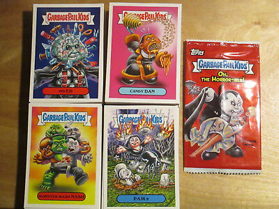 Topps Garbage Pail Kids 2018 Oh The Horror-ible Complete 200 Card Base Set + Wra