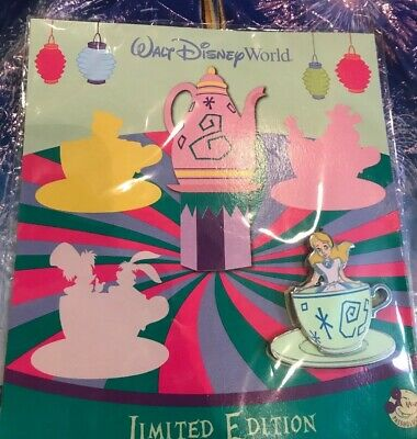 Disney Alice In Wonderland Annual Passholder Pin LE 3000 New In Hand