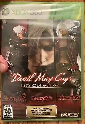 Devil May Cry HD Collection (Microsoft Xbox 360, 2012) Brand New! Free shipping!