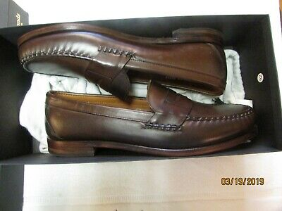 5ae81880f4c Allen Edmonds Cavanaugh Penny Loafer Slip On 50023 11.5 E Brown Box   Shoe  Bags