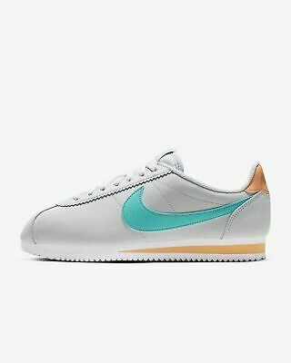 best service 1b408 a6052 New Nike Women s Classic Cortez Leather Shoes (807471-019) Pr Platinum Hyp
