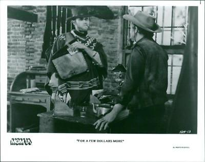 A scene from the film For a Few Dollars More. - Vintage photo