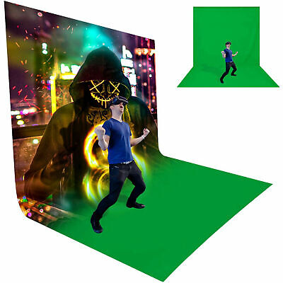NEW Green Screen chroma key 10x10ft 3x3M Background Backdrop Photographic