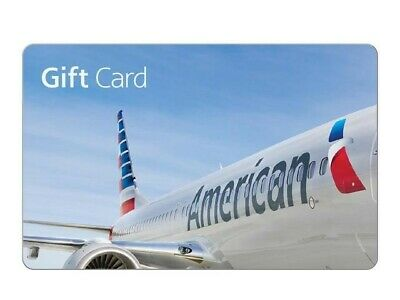 $50 American Airlines Gift Card - Fast Email Delivery