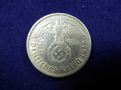 1936 5 Reichs Mark coin - Germany