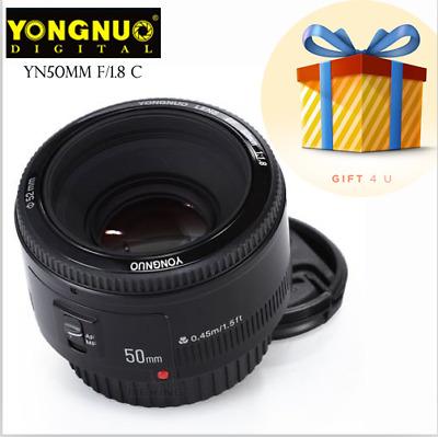 YONGNUO YN EF 50mm f/1.8 AF Lens Aperture Auto Focus for Canon EOS DSLR Cameras