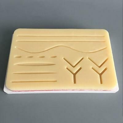 Silicone Human Skin Model Suture Practice Pad Surgical Practice Training Tools