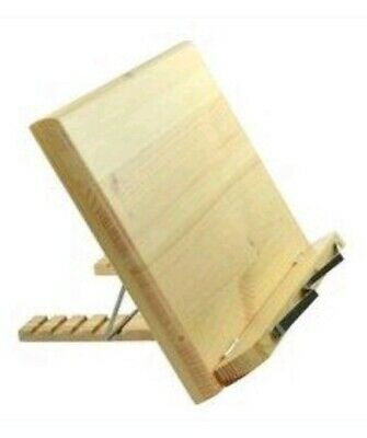 Wood Foldable Desktop Sheet Music Stand Holder Table Cookbook Stand Ipad Stand
