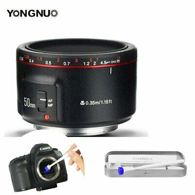 Yongnuo YN 50mm F 1.8 II AF MF Prime Fixed Lens for Canon  / Cleaning pen opts