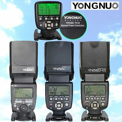 NEW YN560TX -II YONGNUO flash speedlite YN560IV YN560III YN660 FOR Canon Nikon