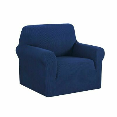 Artiss High Stretch Sofa Cover Couch Lounge Protector Slipcovers 1 Seater Navy