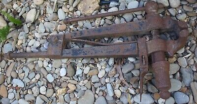 Antique vintage Giant (very large) Blacksmith vice
